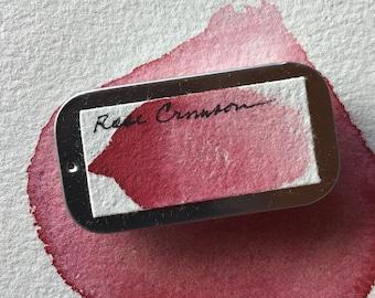 Rose Crimson Watercolor