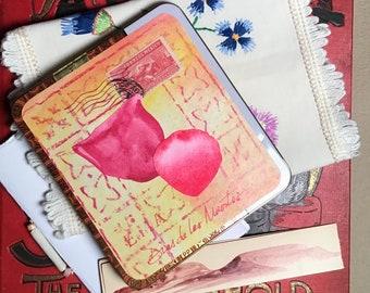 Dias de los Muertos Altar Watercolor Tin