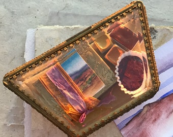 French Glass Box for Handmade Watercolors