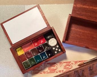 Wood Box Paint Sets