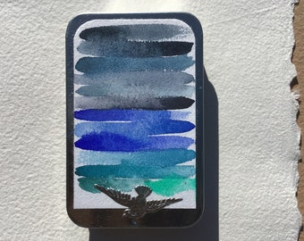 The Blue Watercolor Collection