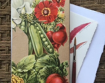 The Large Antique Flower Garden Watercolor Tin Series