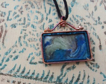 Leaf of Mermaid's Tale Pendant