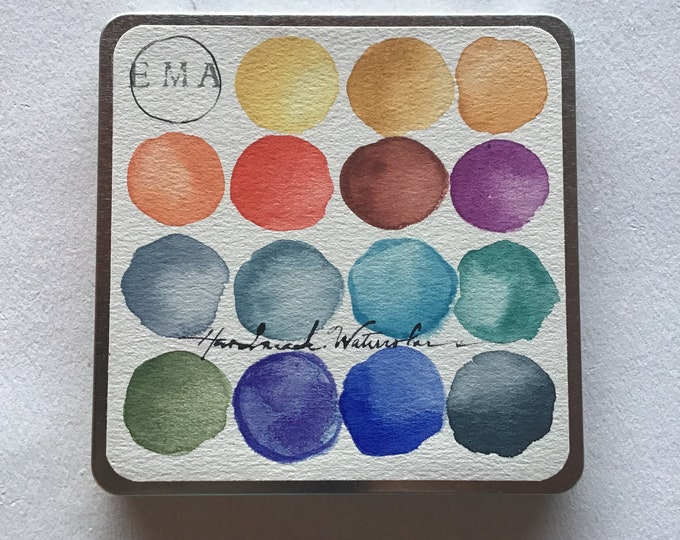 Featured listing image: Designers Watercolor Set of 16 Custom Order