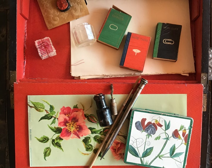 Featured listing image: An Antique Miniature Painters Desk