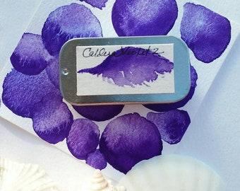 Caldera Violet 2 Watercolor