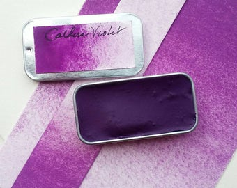 Caldera Violet Watercolor