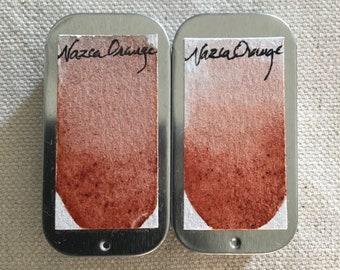 Nazca Orange Watercolor
