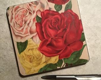The Antique Flower Garden Series Watercolor Tins