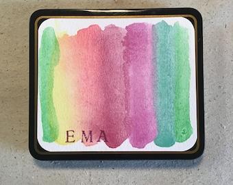 The EMA Pastel Botanical Watercolor Set