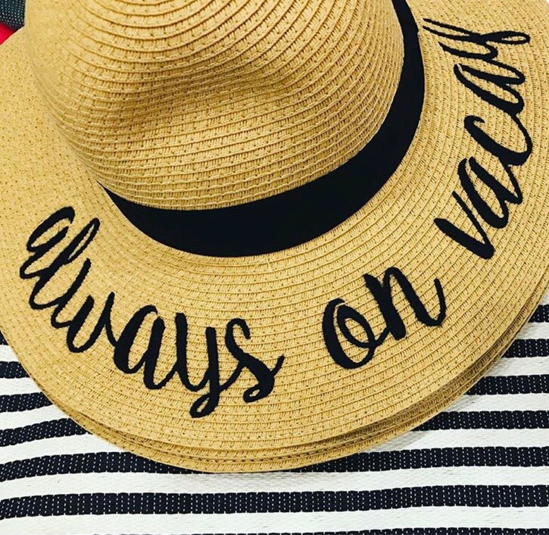 f475dca90 Always on Vacay hat