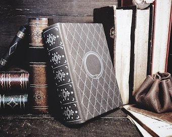 Pocket-size Customizable Leatherbound Journal or Grimoire - The Great Serpent