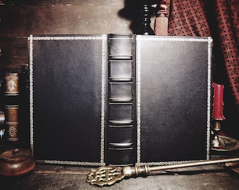 Customizable Leatherbound Journal or Grimoire - The Classic III