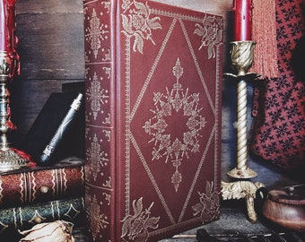 Customizable Leatherbound Journal or Grimoire - Magnum Opus