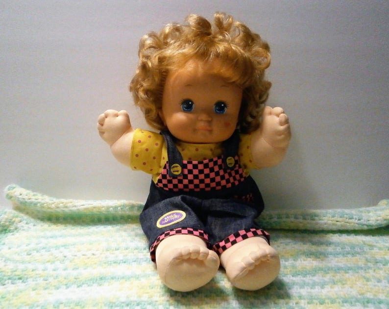Dolls Baby Dolls Magic-nursery-baby-doll-w-original-outfit-1989-mattel Bright In Colour