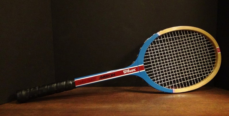 the latest 111b7 c7038 Vintage Stan Smith Tennis Racket - Wilson - Tennis Raquet