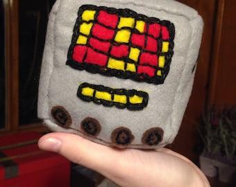 Mettacube - Mettaton from Undertale cube plush