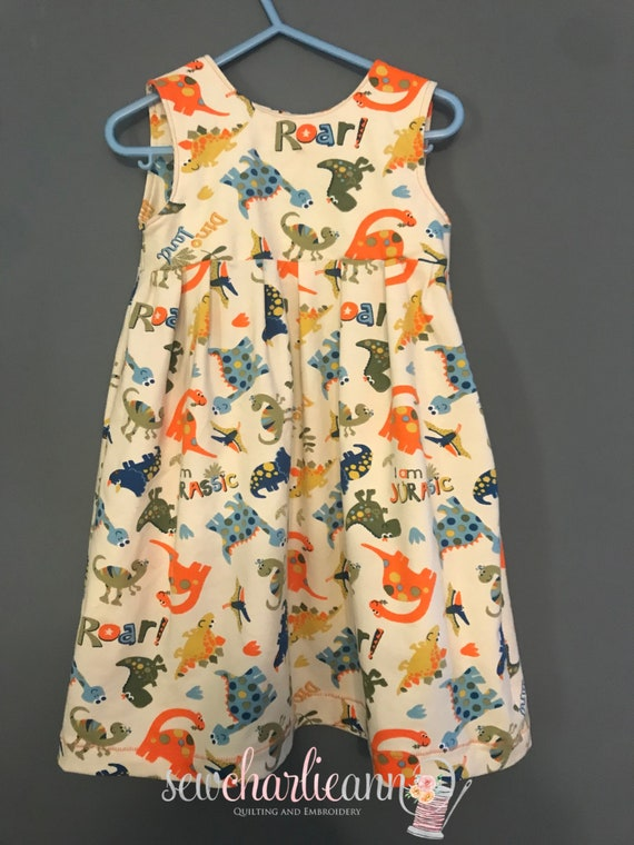 Dinosaur Dress Toddler
