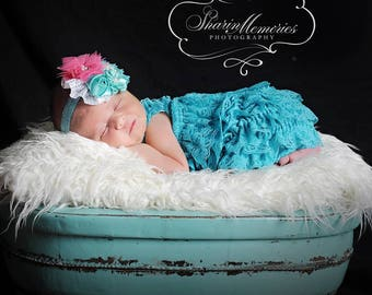 Jade Lace Romper~Easter Outfit~Easter Dress~Easter Lace Romper~Lace Romper~Lace Baby Romper~Flower Girl~Coming Home Outfit Newborn Girl