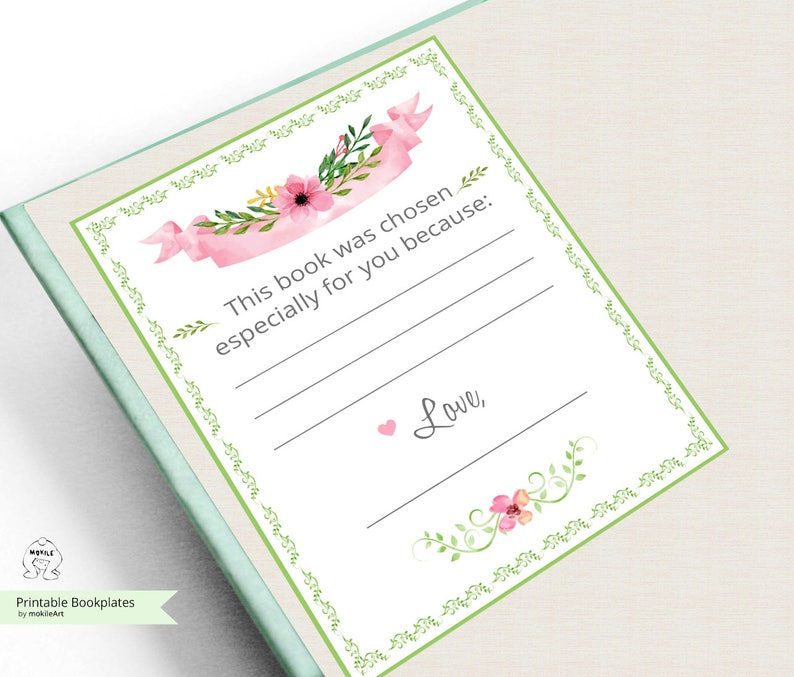 photograph about Printable Bookplates identify Printable Bookplates -Little one Shower Bookplates-E-book Plates-Prompt Obtain-Bookplates-get pleasure from Bookplates- Childrens Bookplate,E book-themed