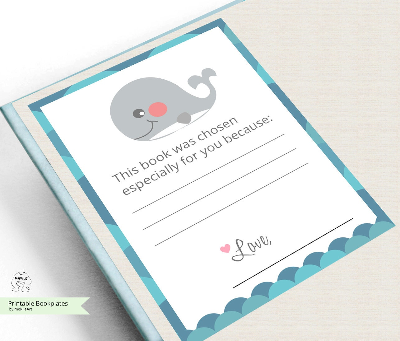Printable Bookplates Book Plates Baby Shower Bookplate Etsy