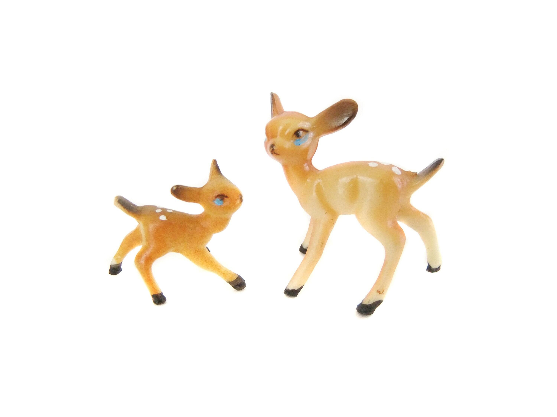 deer  little plastic deer figurine