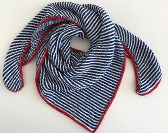 "Knitting set ""Summer breeze cloth"" incl free instructions Knitting instructions"