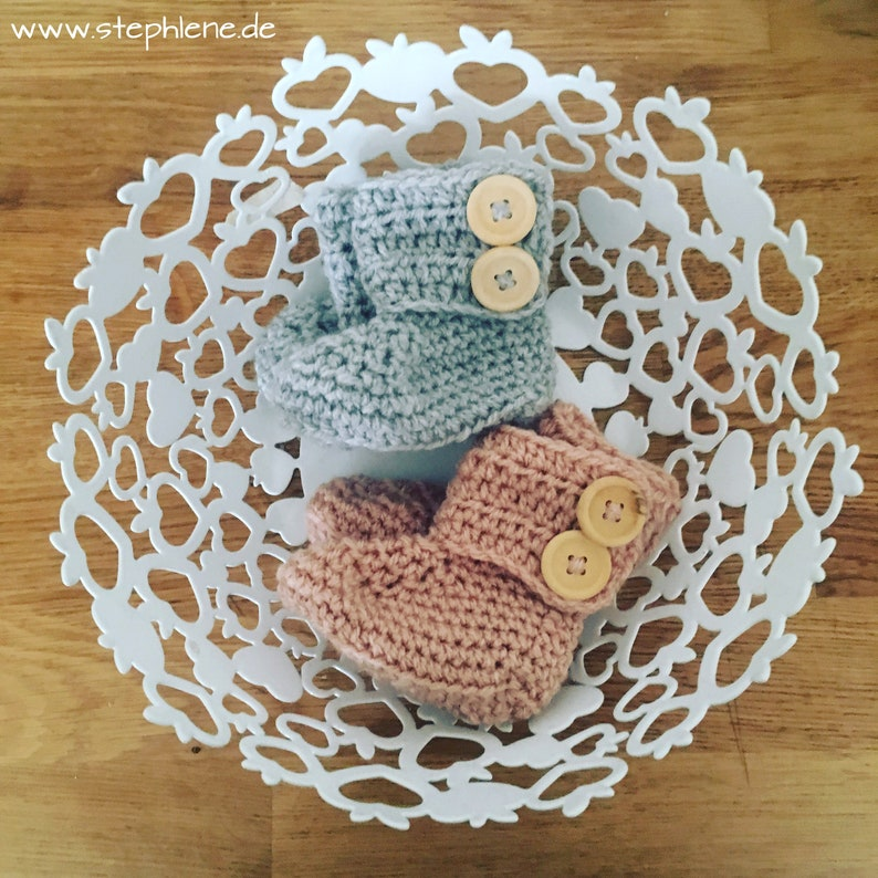 Babyboots Baby Shoes Crochet