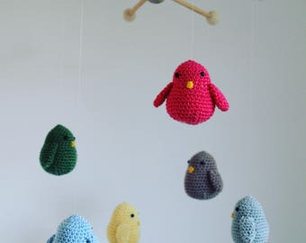Mobile Crochet Baby Mobile bird