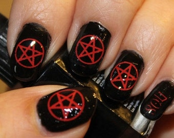 New Unique Sexy Gothic And Wiccan Nail Art And By Northofsalem