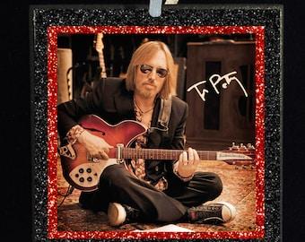 TOM PETTY Guitar Signature Ornament - Free Shipping