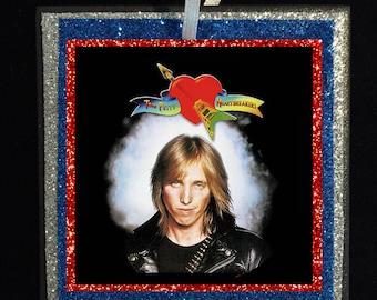 Tom Petty Glitter Ornament