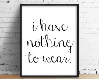 Funny Quote Print Minimal Print Typography Print Black And White Print Bedroom Print Funny Print Modern Home Print Bedroom Wall Art