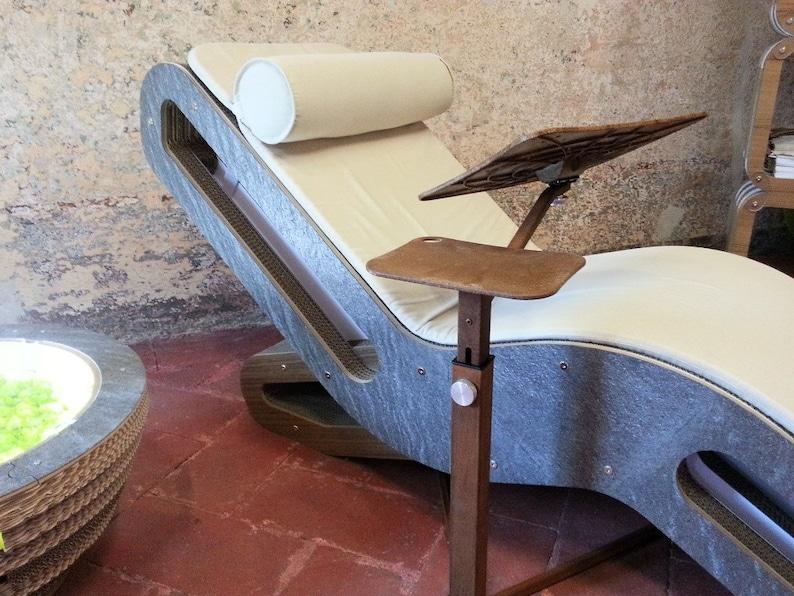 Lounge-book Ecodesign NATURAL  Adjustable Laptop Desk image 0