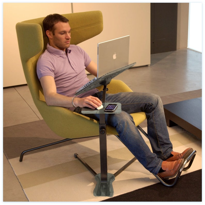 Ergonomic laptop support for Laptop and Tablet fully image 0