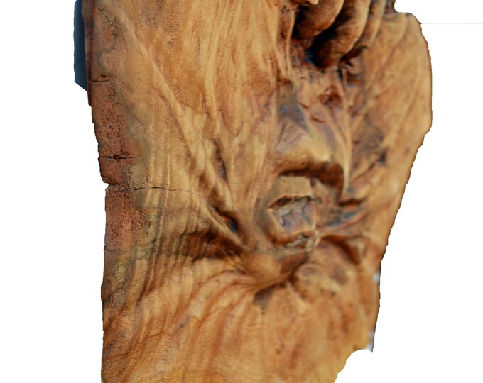 Fine Art Wood Sculpture, A Perfect Wood Carving Gift, OOAK Hand Carved Woodworking by Josh Carte, Wood Gift for Him or Her, Art Sculpture