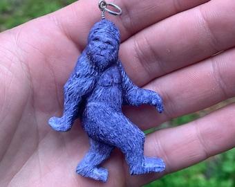 Bigfoot Pendant, Bigfoot Necklace, Bigfoot Jewelry, Sasquatch Jewelry, Sasquatch Necklace, Yeti, by Josh Carte