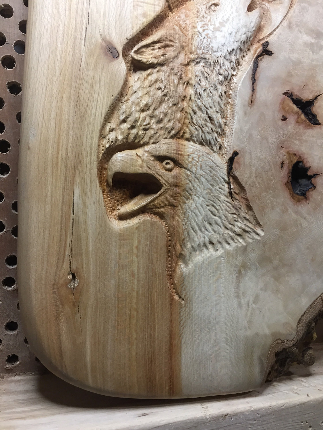 Carving a wooden wolf spider youtube