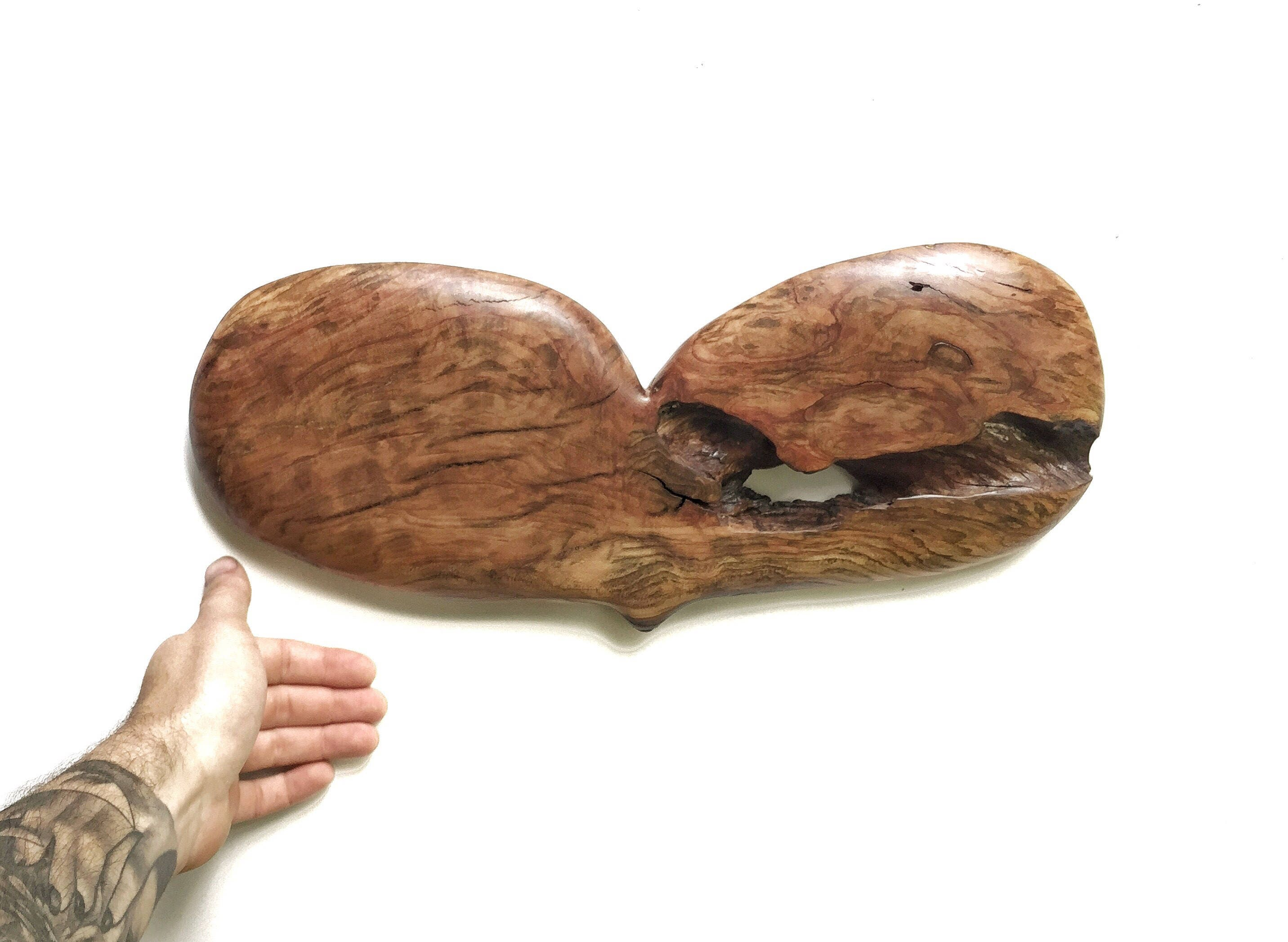 Heart Wood Carving Anniversary Gift Personalized 5th For Her Wife Wall Art Decor Handmade