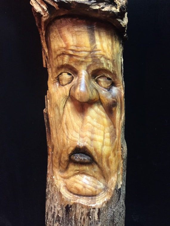 Wooden art Wood Spirit