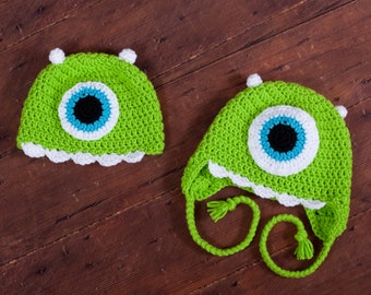 21ea9276da8 Monster hat - One big eye is looking for you! Green Monster.