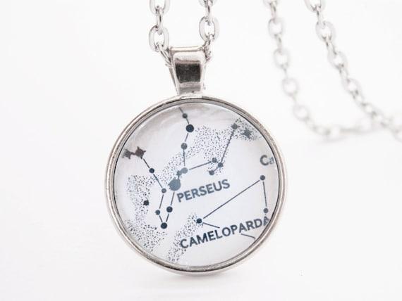 Gold Astrological Zodiac Necklace