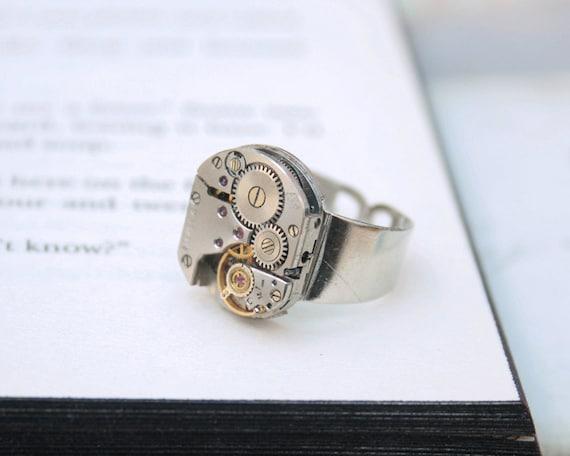 D Signet Ring Site Etsy Com