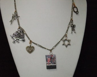 Ivanhoe Book Necklace - Great Gift for Book Lovers!