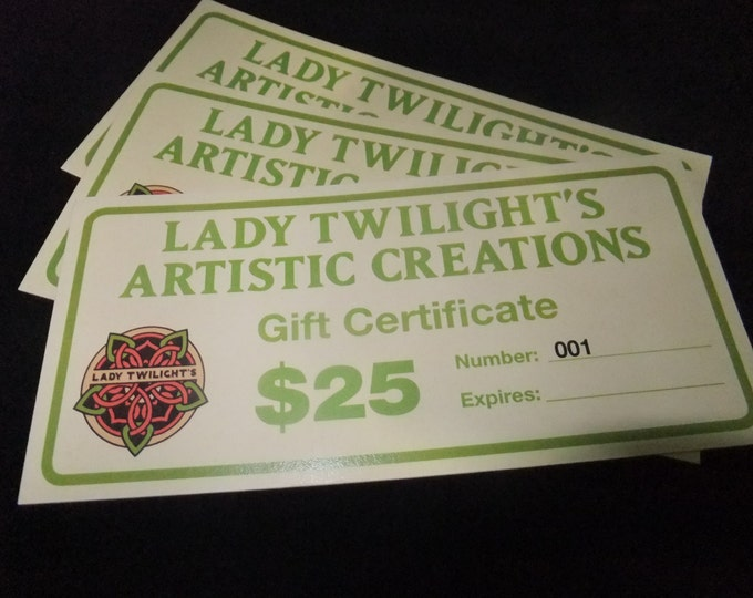 Featured listing image: Gift Certificate