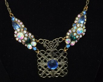 Ornate Crystal Necklace