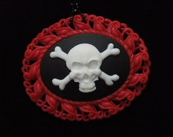 Pirate Cameo Necklace
