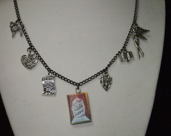 Faust Book Necklace - Great Gift for Book Lovers!