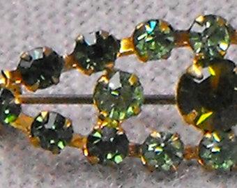 Small Green Collar pin