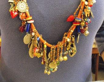 Ethnic Fetish Necklace